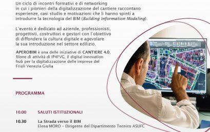 CANTIERE 4.0 Apero BIM (venerdì 21 febbraio 2020) Confindustria Udine