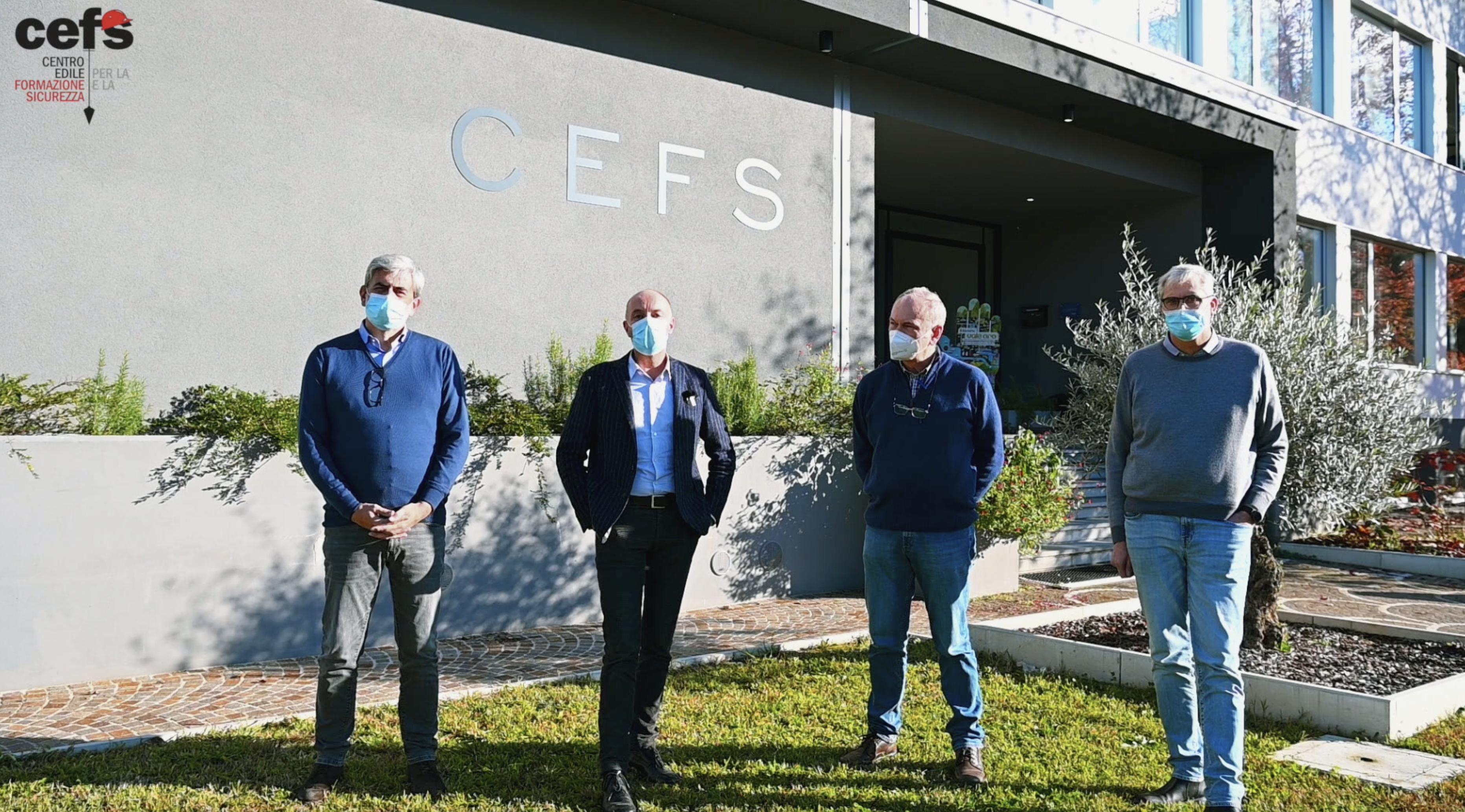 video cefs sulla sicurezza covid in cantiere