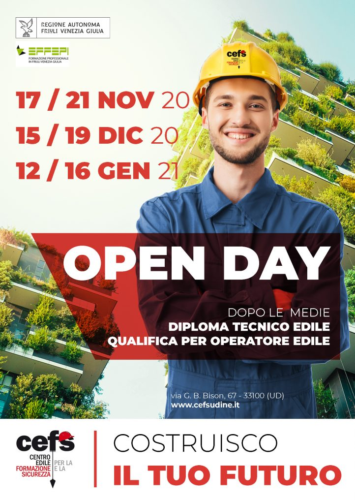 poster open day 2020 bosco veritcale