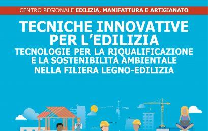 Tecniche innovative per l'edilizia – Anno 2021